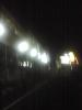 深夜の駅前