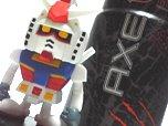 「AXE」×「ガンダム」コラボ